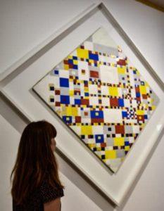 Exhibition museum Mondrian The Hague