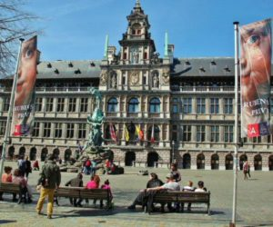 Antwerp City Hall in the Plaza Mayor