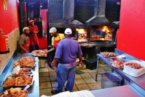Barbecue at Mzolis in Gugulethu in Cape Town