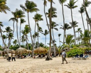 Beach at Grand Palladium Hotels & Resorts in Punta Cana