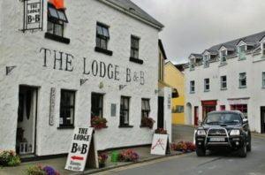 Bead and Breakfast in Clifden in Western Ireland