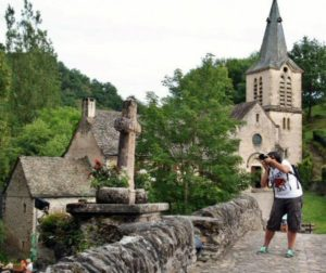 Belcastel in Aveyron in southern France