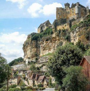 Beynac Castle in Perigord in southwestern France