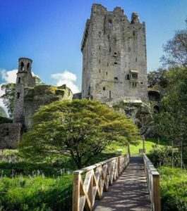 Blarney Castle near Cork in southern Ireland