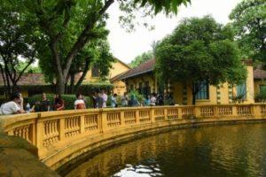 Botanical Garden in Hanoi in Vietnam