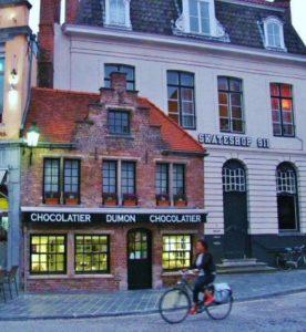 Brugge shop in Bruges