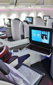 Business Class in Qatar Airways
