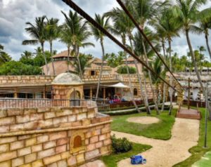 Castle for children at Grand Palladium Hotels & Resorts in Punta Cana