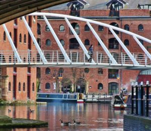 Castlefield area in Manchester