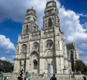 Cathedral of the Holy Cross in Orleans in the Loire Valley