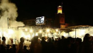 Chiringuitos in the Jemaa El Fna square in Marrakech