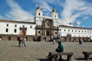 Church of San Francisco in Quito in Ecuador