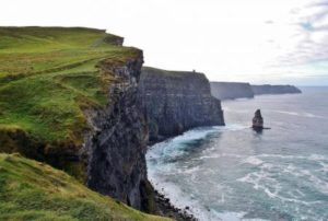 Cliffs of Moher on the west coast of Ireland