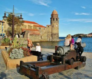 Collioure in Occitania south of France