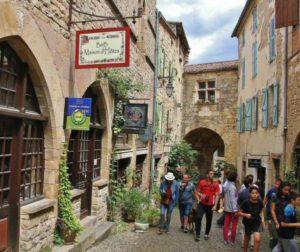 Cordes sur Ciel in Occitania south of France