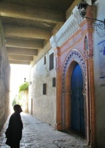 Corner of the Kasbah of Tangier