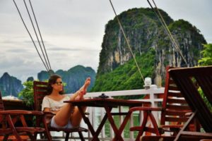 Cruise through Halong Bay in Vietnam
