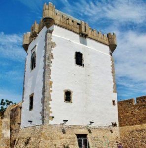 Defensive tower in the medina of Asilah in northern Morocco