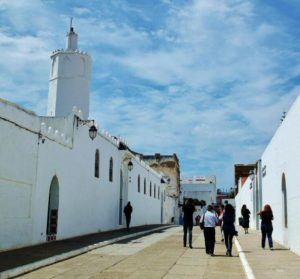 Entrance to the medina of Asilah in northern Morocco