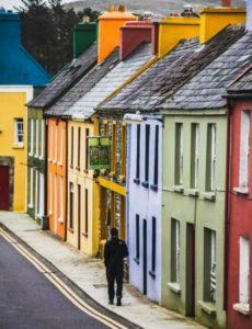 Eyeries in County Cork in Ireland