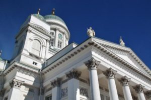Facade of Helsinki Cathedral