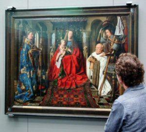 Flemish primitives in the Groeninge museum in Bruges