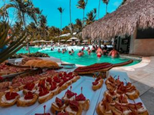 Foam Party at Grand Palladium Hotels & Resorts in Punta Cana
