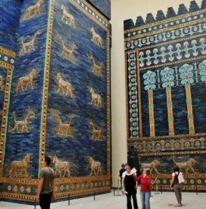 Gate of Ishtar of Babylon at the Pergamon Museum in Berlin
