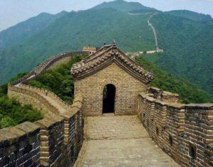 Great Wall of China in Mutianyu near Beijing