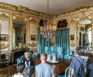 Guided tour in the Palace of Versailles near Paris