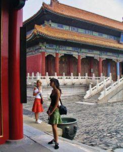 Hall of Longevity in the Forbidden City in Beijing