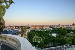 Heldenplatz on Vienna's Ringstrasse