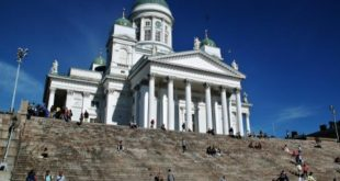 This is the visit of the Helsinki Lutheran Cathedral, monument icon of the city