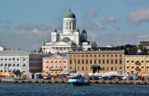Helsinki Market Square in Finland