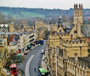 High Street from the Virgin Mary Church of Oxford