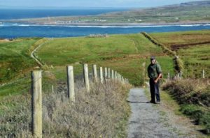 Hiking on the Cliffs of Moher with Pat Sweeney