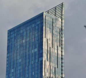 Hilton Tower in Manchester