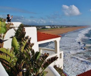 Hotel Le Mirage near Tangier in northern Morocco