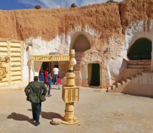 Hotel Sidi Idriss, scene of Star Wars in Matmata