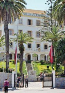 Hotel Ville de France in Tangier in Morocco