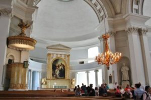Interior of Helsinki Cathedral