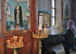Interior of the Uspensky Orthodox cathedral in Helsinki