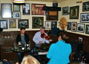 Irish music at the Matt Molloy's pub in Westport