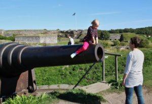 Island of the Suomenlinna Fortification in Helsinki