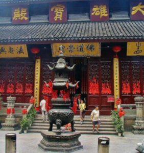 Jade Buddha Temple in Shanghai