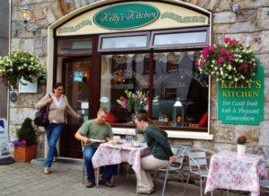 Kellys Kitchen in Newport on the Atlantic coast of Ireland