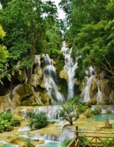 Kuang Si Falls in Laos
