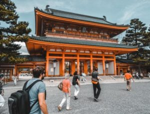 Kyoto Corner in Japan