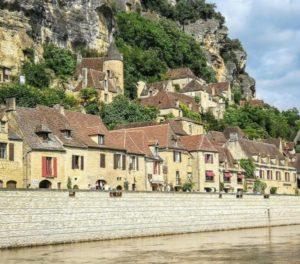 La Roque Gageac in Perigord in Perigord in France