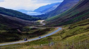 Loch Maree in the Wester Ross region in the Highlands Highlands of Scotland